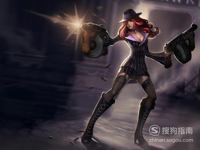 lol女枪无限火力出装,看完你就知道了