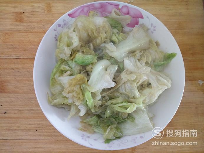 怎样用圆生菜做蚝油生菜,值得收藏