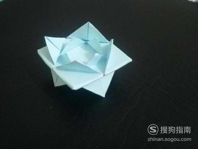 折纸艺术-怎么折莲花 大师来详解