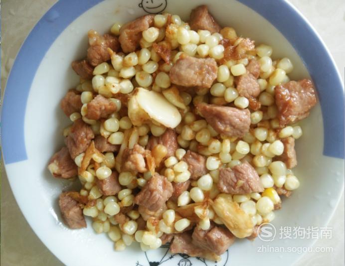 嫩玉米炒瘦肉丁的做法 详细始末