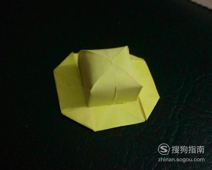 折纸艺术-怎么折草帽,你需要学习了