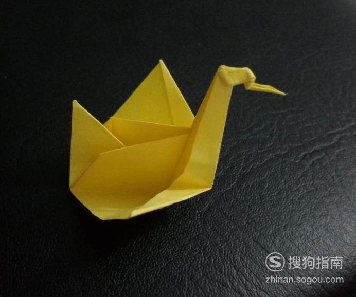 折纸艺术-怎么折天鹅 划重点了