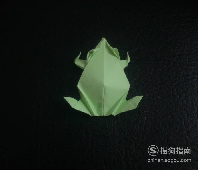 折纸艺术-怎么折青蛙,详细始末