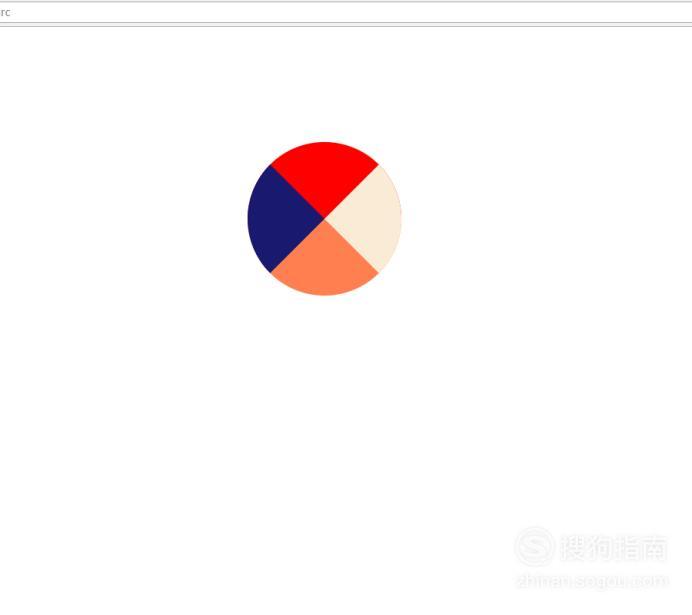 怎么制作网页扇形分区图形 看完就明白