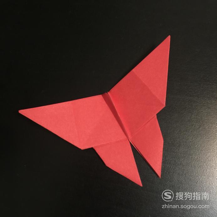 【折纸图解】蝴蝶怎么折,看完你就知道了