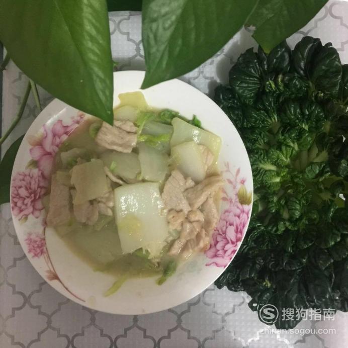 如何做大白菜炒肉? 需要技巧