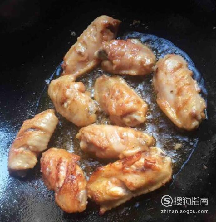 奥尔良煎鸡翅的制作方法