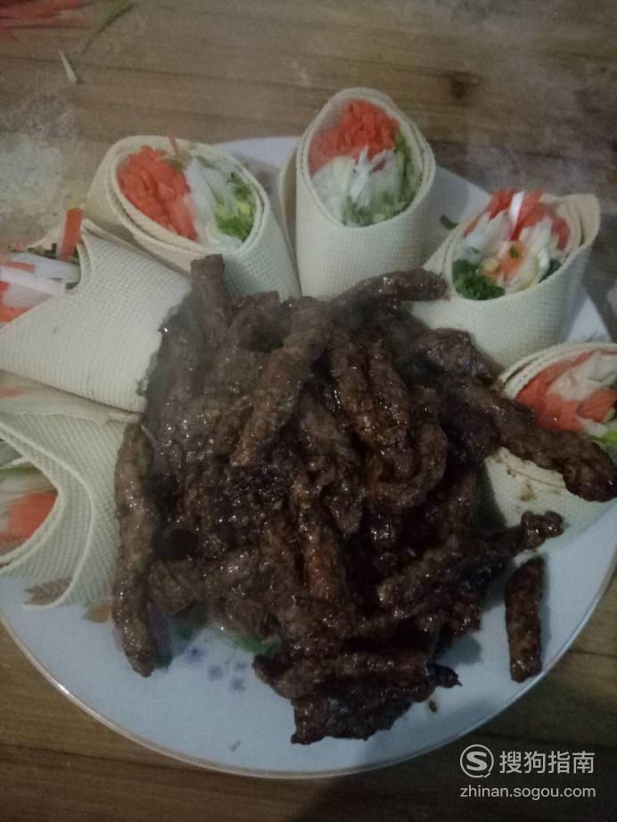 怎么做京酱肉丝 详细始末