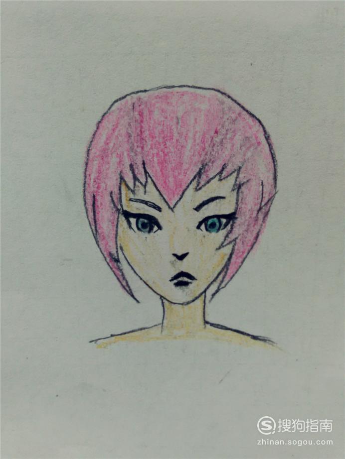 怎样从零基础开始画漫画:正脸 详细始末