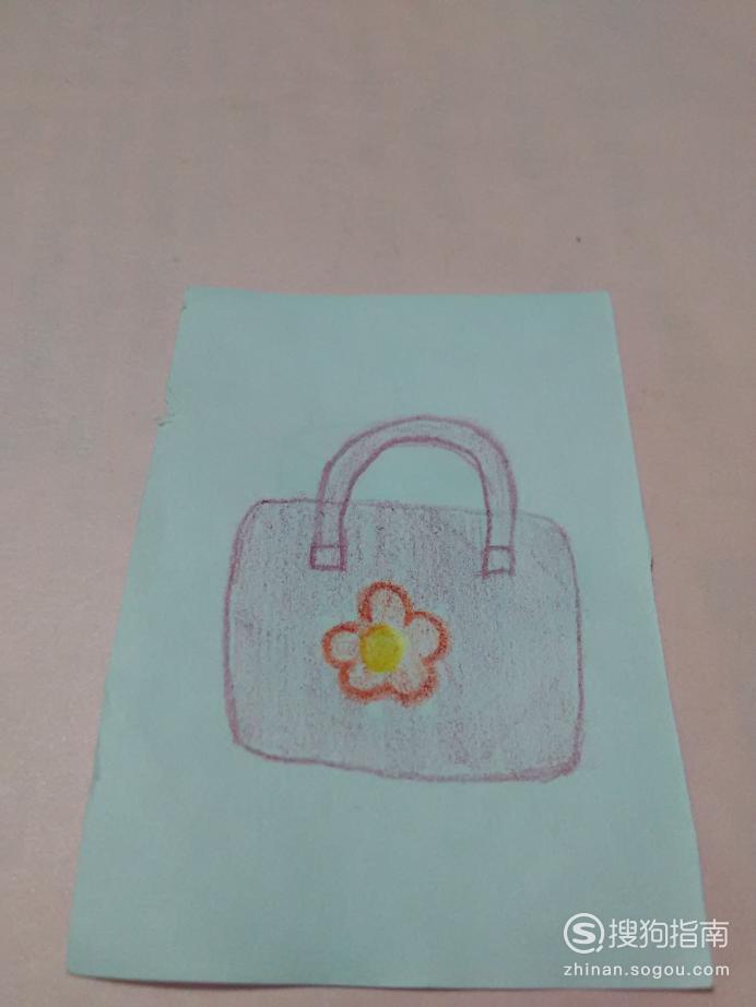 如何用彩色铅笔画漂亮的包包 详情介绍