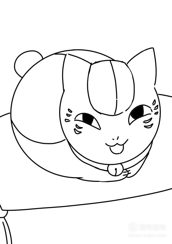卡通简笔画:猫咪老师怎么画? 经验告诉你该这样