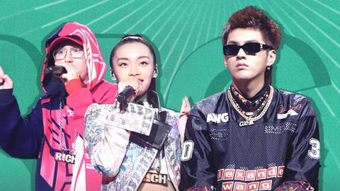 中国新说唱之四强争夺战那吾克热秀三语RAP 刘柏辛演绎木兰中国风