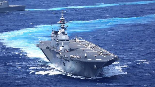 日本防卫相官宣升级出云为正规航母,憋了这么久终于承认了