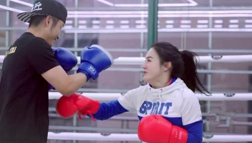 邹市明与冉莹颖的拳王争霸赛