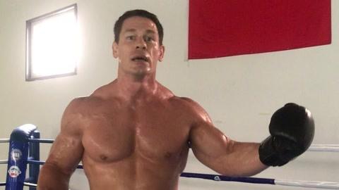 塞纳继续预热WWE上海站:将使用新绝技闪电拳头