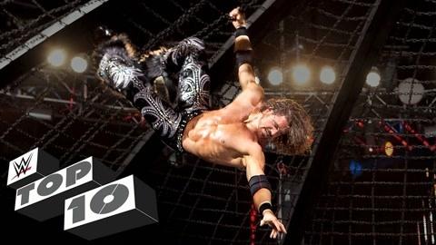 约翰·莫里森WWE十大高光!凶狠瞬间看着都疼