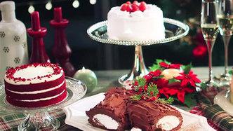 圣诞老人@你领取专属蛋糕
