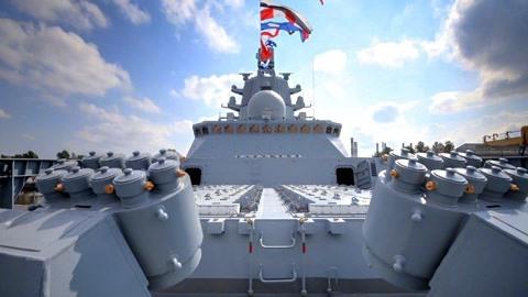 俄揭开神盾舰诞生过程