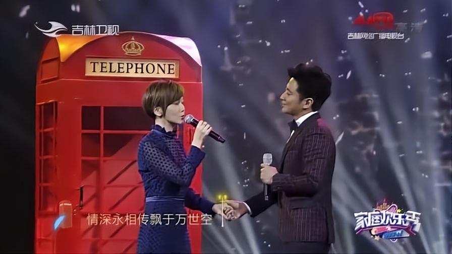 孙耀威、陈美诗夫妇现场浪漫献唱《相思风雨中》,百听不厌