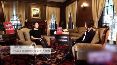 鲁豫采访陈冲:一辈子演一部《小花》就够了,老不可怕可怕的是朽