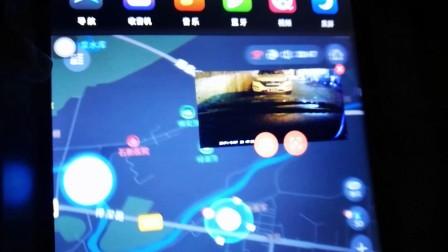 多克士D25车载安卓导航仪专用星光夜视USB记录仪夜晚实拍