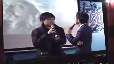 麦莎风雨DV作品【圣诞的传说首映式】演员董璇.丁志诚到场祝贺