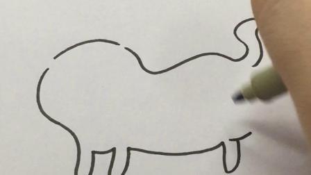 教你画猫咪#简笔画