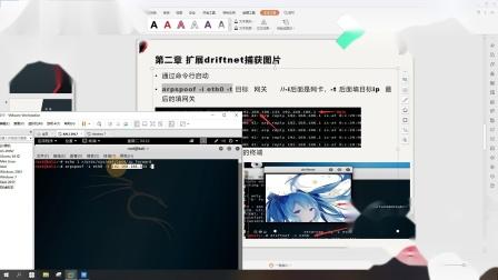 KALI Linux-arp获取目标信息