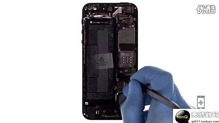 iPhone5开机键排线 静音 音量排线拆机更换教程