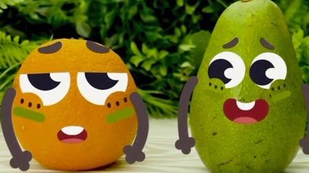 表情动画,牛油果被小伙伴打了一个包?