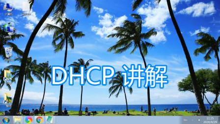 DHCP动态主机配置协议讲解,路由器设置服务端网络自动获得IP教程
