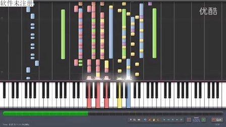 钢琴版RMVX自带音乐-battle1