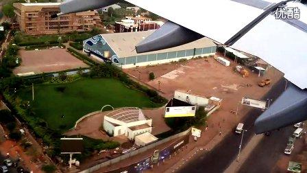 降落在苏丹喀土穆2012