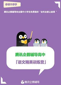 腾讯企鹅辅导高中语文精英训练营剧照