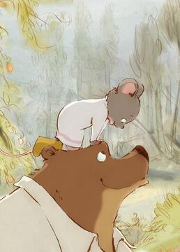 艾特熊和赛娜鼠剧照