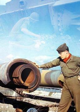 彩色二战剧照