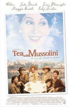 与墨索里尼喝茶剧照