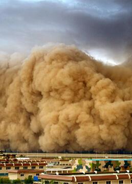 沙尘暴来袭剧照