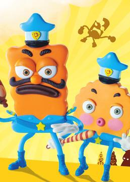 饼干警长之乐园计划剧照