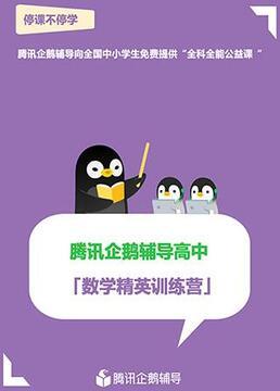 腾讯企鹅辅导高中数学精英训练营剧照