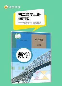 初二数学上册通用版剧照