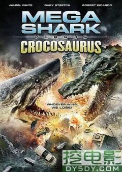 巨鲨大战食人鳄剧照
